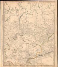 1838 Antiguo Mapa-Sduk-Siberia occidental, Khiva y Bokhara