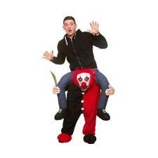 Costumi e travestimenti horror rosso in poliestere per carnevale e teatro unisex
