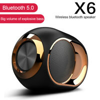 Wireless Bluetooth 5.0 Speaker TF/U disk/AUX/FM Subwoofer 3D Stereo Super Bass