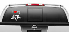 I Love My Horse Decal Vinyl Sticker Car Truck Decal Dog Stickers