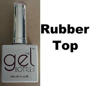 NEW The Gel Bottle Inc TGB Rubber Top Coat Builder Gel System UV LED 20ml