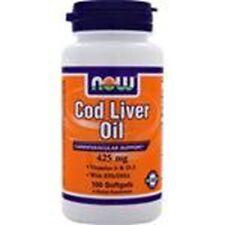 NOW Foods Cod Liver Oil  Size: 100 softgels