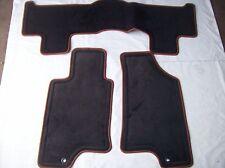 FITS HUMMER H3 H3T NEW  FLOOR MAT 3PC SET CARPET GREY W/TRIM