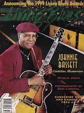 LIVING BLUES MAGAZINE NUMBER 146 JULY-AUG 1999 JOHNNIE BASSETT MABLE JOHN