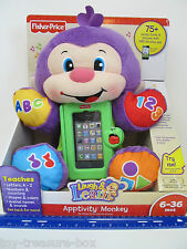 Fisher Price - Laugh & Learn - Apptivity Monkey - Ages 6-36 months