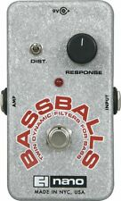 Electro Harmonix Bassballs Nano Twin Envelope Filter Bass Effects Pedal