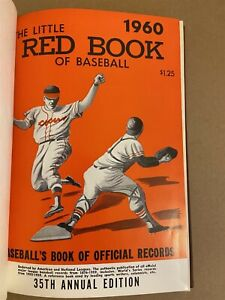 1960 The Little RED BOOK Of Baseball CLEMENTE Aaron MANTLE Yogi BANKS McCovey