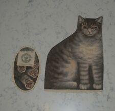 Antique Cat Kitten Cloth Lithographed Stuffed Doll 1892 Arnold Print Works