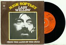 "MICK SOFTLY - Lady Willow (1972 DUTCH CBS 8269 PS NEAR MINT VINYL SINGLE 7"")"