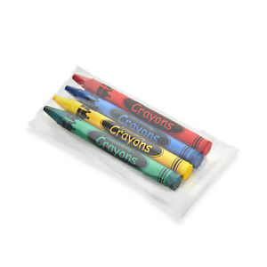 CrayonKing 2,000 Bulk Crayons (500 Sets of 4-Packs in Cello) Coloring Crayons