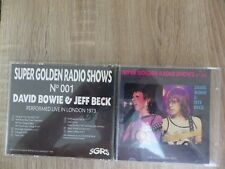 DISQUE CD SUPER GOLDEN RADIO SHOWS N°1 DAVID BOWIE / JEFF BECK § RARE §