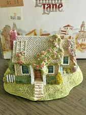 """1991 Lilliput Lane Collector """"Rambling Rose Cottage Retired Signed Ray Day"""
