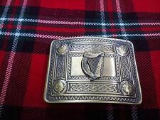 TC Men's Irish Celtic Harp Kilt Belt Buckle Antique/Celtic Kilt Belt Buckle Harp