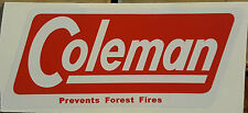 ONE (1) NEW COLEMAN REPLACEMENT STICKER LABEL DECAL CANADIAN 4M STOVE VERSION 1