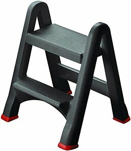 LADDER MINI two step stool EASY USE foldable, home, kitchen, garden - CURVER