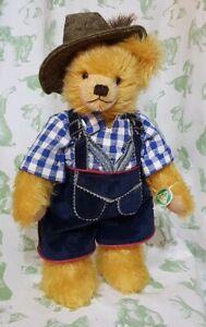 Ludwig of Bavaria by Hermann Spielwaren - limited edition bear in lederhosen
