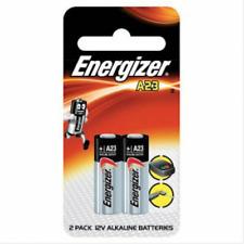 Energizer A23 Alkaline Batteries.  2 x 12v  - 2 Pack  New & Sealed