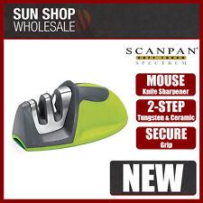 100% Genuine! Scanpan Soft Touch Spectrum Mouse Knife Sharpener Green!
