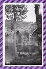 TARJETA POSTAL- 12 - ENTRAYGUES - el puente en el Lote