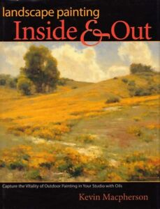 Landscape Painting Inside and Out BOOK Oil Painting Paints Craft HC