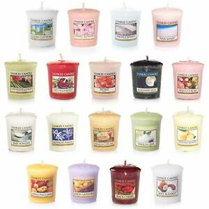 18 x Official Yankee Candle Votive Samplers Assorted Fragrances -All Different