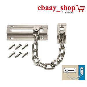 DOOR CHAIN LOCK PREMIUM DOOR CHAIN LOCK & SCREWS DOOR LOCK SECURITY GUARD LOCK