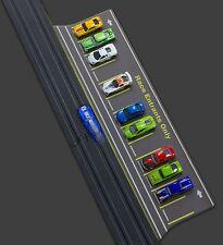 1:64 Scale Slot Car HO Parking Lot Kit and Staging Area Set 2ft long PL1011
