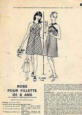PATRONS supplement à femmes d'aujourd'hui n°1162 du 09 aout 1967