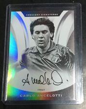 2017 Panini Nobility Soccer Carlo Ancelotti Crescent On Card AUTO Autograph SP