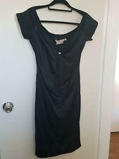 Wheels & Dollbaby Black Niagra Silk Dress - size 14 BNWT