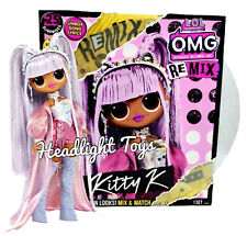 1 Lol Surprise Remix Kitty K 10� Omg Fashion Doll Music Set Queen New Preorder
