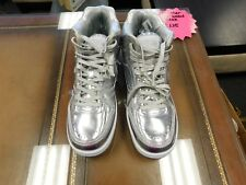 Brand New British Knights silver high top sneakers men size 9 shoesFREE SHIPPING