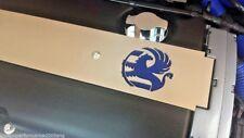 CORSA D Bujía Enchufe Cubierta 1.6 Turbo, edición en Negro x 4 LOGOS Y 3 COLORES
