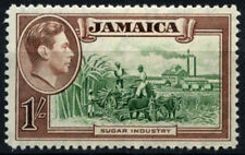 Jamaica 1938-52 SG#130, 1s KGVI Definitive MH #D53955
