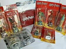 A COLLECTION OF 16 HARRY POTTER CHESS ITEMS by De AGOSTINI - Series 1 & 2 VGC