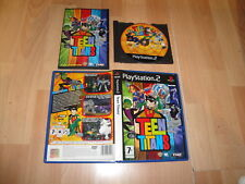 TEEN TITANS DE ARTIFICIAL MIND & MOVEMENT - THQ PARA LA SONY PS2 USADO COMPLETO