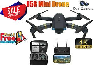 Drone X Pro WIFI FPV 4K HD Camera  Foldable Selfie RC Quadcopter Drone@