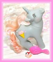 ❤️My Little Pony MLP G1 Vtg 1987 Coco Berry Sundae Best 3D Symbol Ice Cream❤️