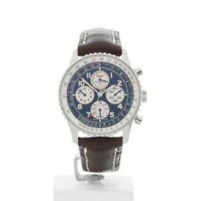 BREITLING NAVITIMER CHRONOGRAPH STAINLESS STEEL WATCH A33030 38MM W3335