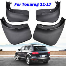 4Pcs Mudflaps For VW Touareg 7P MK2 2011-2017 Mud Flaps Splashs Guards Mudguards