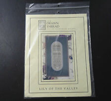 "The Drawn Thread ""Lily of the Valley"" Cross Stitch Kit Beads Floss"