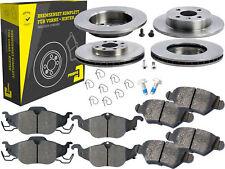 4 Bremsscheiben + Beläge Vorne & Hinten Opel Astra G CC Kasten Stufenheck