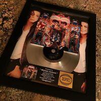 Michael Jackson Dangerous Platinum Record Album Disc Music Award MTV  RIAA