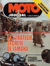 MOTO JOURNAL  290 MOTOBECANE 125 LT ELF YAMAHA XS 250 236 750 DT 400 Enduro 1976