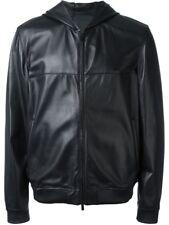 Men's Black colour Customised  Pure Motorcycle Leather jacket & Coats