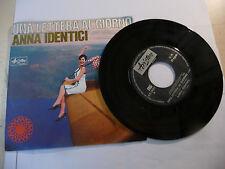 """ANNA IDENTICI"""" UNA LETTERA AL GIORNO-disco 45 giri ARISTON Italy 1966"""" PERFETTO"""