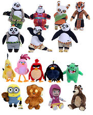 Official Licensed Childrens Plush Soft Cuddly Toys Masha & The Bear / Minions