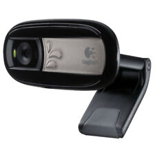 Logitech C170 Webcam - 0.3 Megapixel Black USB 2.0 5 Interpolated 1024 x 768 Vid