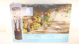 Tommy Bahama Solar LED Pathway Bollard Light, 6-pack #2 (1076) OA