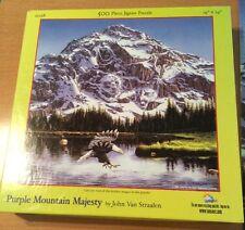 SunsOut Purple Mountain Majesty by John Van Straalen 500 Piece Puzzle